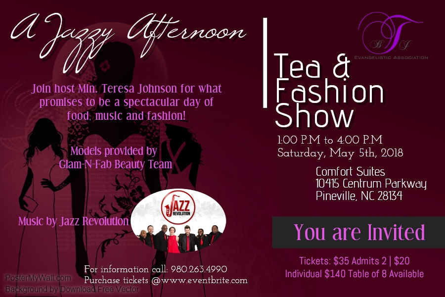 A Jazzy Afternoon Tea and Fashion Show