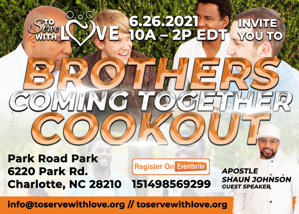 TSWL Brothers Coming Together Cookout Flyer