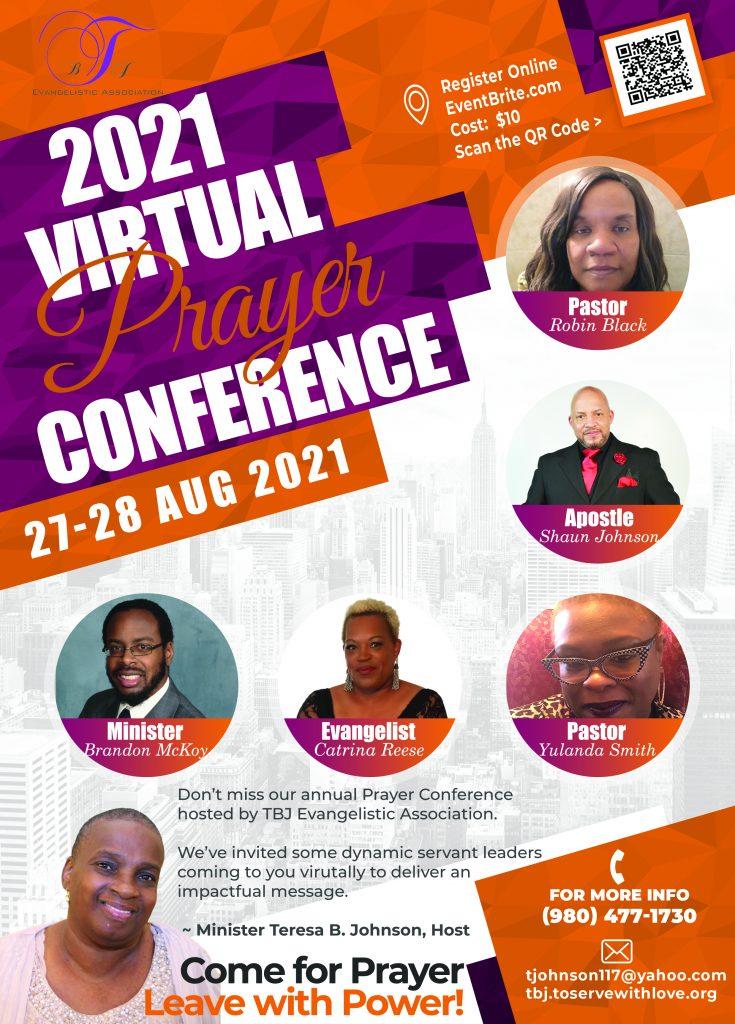 Prayer Conference Flyer 2021
