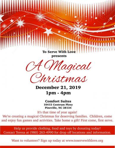 2019 Magical Christmas Flyer
