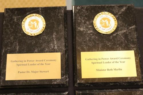 Award Recipient Plaques